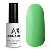 Гель-лак AKINAMI Color Gel Polish тон  №97 Salad