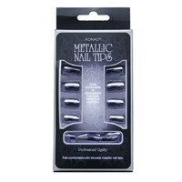 Metallic Nail tips Konad Синий