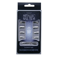 Metallic Nail tips Konad Серебро