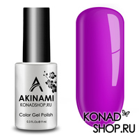 Гель-лак AKINAMI Color Gel Polish тон №132 Bright Fuchsia