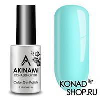 Гель-лак AKINAMI Color Gel Polish тон №135 Сerulean
