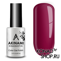 Гель-лак AKINAMI Color Gel Polish тон №136 Crimson