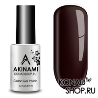 Гель-лак AKINAMI Color Gel Polish тон №140 Dark Burgundy