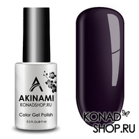 Гель-лак AKINAMI Color Gel Polish тон №141  Blueberry