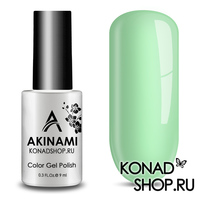 Гель-лак AKINAMI Color Gel Polish тон №155 Light Mint