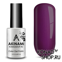 Гель-лак AKINAMI Color Gel Polish тон №156  Fuchsia Pearl