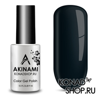 Гель-лак AKINAMI Color Gel Polish тон №159 Noir