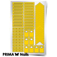 Трафарет для дизайна ногтей PrimaNails. Ацтеки и Майя 1