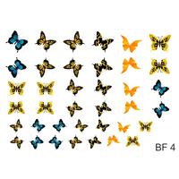 Слайдер-дизайн Nail Dream - Бабочки BF4
