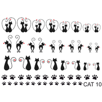 Слайдер-дизайн Nail Dream - Кошки CAT10
