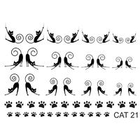Слайдер-дизайн Nail Dream - Кошки CAT21