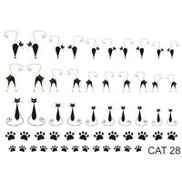 Слайдер-дизайн Nail Dream - Кошки CAT28