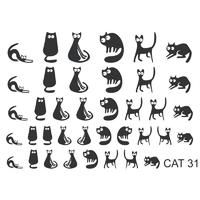Слайдер-дизайн Nail Dream - Кошки CAT31