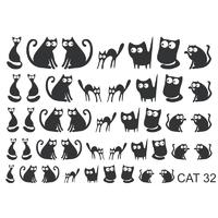 Слайдер-дизайн Nail Dream - Кошки CAT32