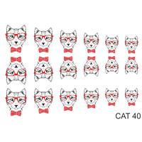 Слайдер-дизайн Nail Dream - Кошки CAT40