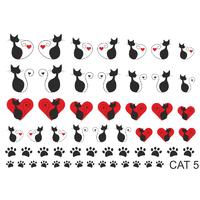 Слайдер-дизайн Nail Dream - Кошки CAT5