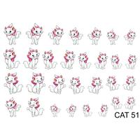 Слайдер-дизайн Nail Dream - Кошки CAT51