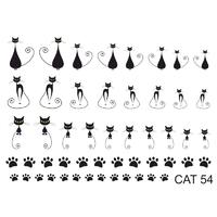 Слайдер-дизайн Nail Dream - Кошки CAT54