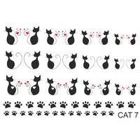 Слайдер-дизайн Nail Dream - Кошки CAT7