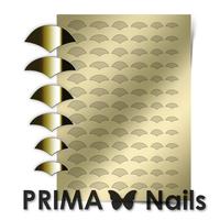 Металлизированные наклейки Prima Nails. Арт.CL-011, Золото