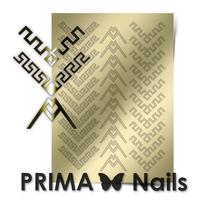 Металлизированные наклейки Prima Nails. Арт.CL-012, Золото