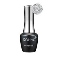 Гель-лак KONAD Gel Nail - 38 Glitter silver