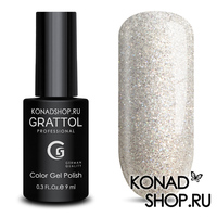 Гель-лак  Grattol  Luxury Stones - Diamond 01