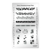 Пластина Fancy Stamping-1