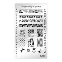 Пластина Fancy Stamping-3