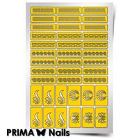 Трафарет для дизайна ногтей PrimaNails. Греция
