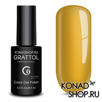 Гель-лак Grattol Color Gel Polish - тон  №180 Yellow Autumn