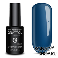 Гель-лак Grattol Color Gel Polish  - тон №03 Blue