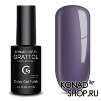Гель-лак Grattol Color Gel Polish  - тон №04 Grey Violet