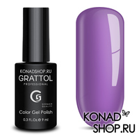 Гель-лак Grattol Color Gel Polish  - тон №07 Blue Violet