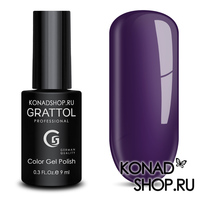 Гель-лак Grattol Color Gel Polish  - тон №10 Eggplant