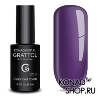 Гель-лак Grattol Color Gel Polish  - тон №11 Royal Purple