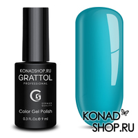 Гель-лак Grattol Color Gel Polish  - тон №14 Sky Blue