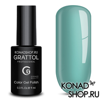 Гель-лак Grattol Color Gel Polish  - тон №17 White Blue