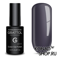 Гель-лак Grattol Color Gel Polish  - тон №18 Grey