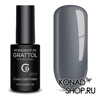 Гель-лак Grattol Color Gel Polish  - тон №19 Pastel Grey