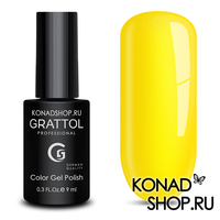 Гель-лак Grattol Color Gel Polish  - тон №34 Yellow