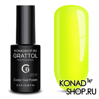 Гель-лак Grattol Color Gel Polish  - тон №36 Lemon