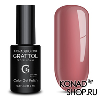 Гель-лак Grattol Color Gel Polish  - тон №51 Dusty Rose