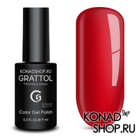 Гель-лак Grattol Color Gel Polish  - тон №52 Red