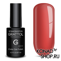Гель-лак Grattol Color Gel Polish  - тон №53 Dark Coral