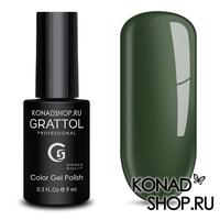 Гель-лак Grattol Color Gel Polish  - тон №59 Green Gray