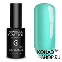 Гель-лак Grattol Color Gel Polish  - тон №61 Light Turquoise