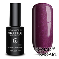 Гель-лак Grattol Color Gel Polish  - тон №80 Shining Ruby