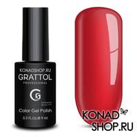 Гель-лак Grattol Color Gel Polish  - тон №84 Scarlet