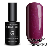 Гель-лак Grattol Color Gel Polish  - тон №86 Glossy Crimson